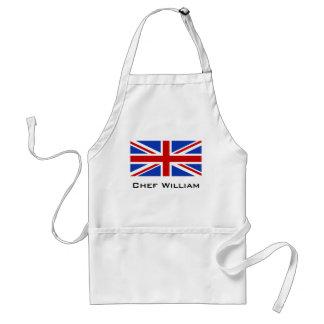 Britische Königreich-Flagge Schürze