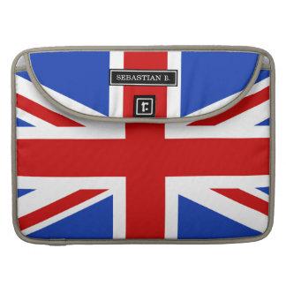 Britische Königreich-Flagge Sleeve Für MacBook Pro