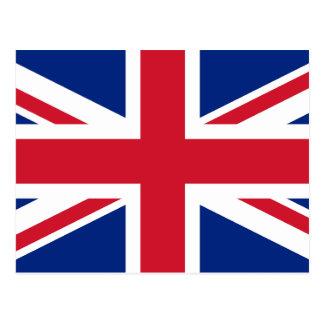 BRITISCHE Königreich-Gewerkschafts-Jack-Flagge Postkarte