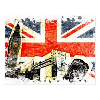 Britische London-Postkarte Postkarte