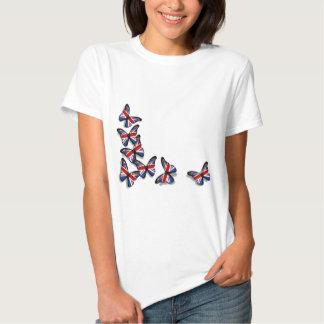 Britische Schmetterlinge Tshirts