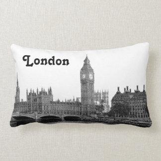 BRITISCHE Skyline Londons England geätzt Lendenkissen