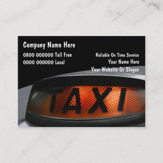 Britische Taxi Visitenkarten Visitenkarte Zazzle De