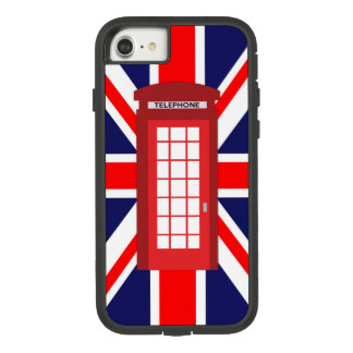 Britische Telefonkasten Gewerkschafts-Jackflagge Case-Mate Tough Extreme iPhone 8/7 Hülle