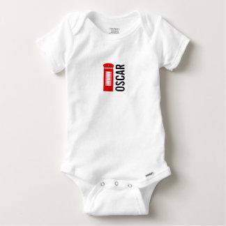 Britische Telefonzelle Gerber Baby-Weste Baby Strampler