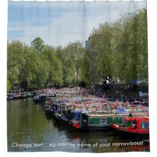Britische Wasserstraßen - Braunston Kanal-Festival Duschvorhang