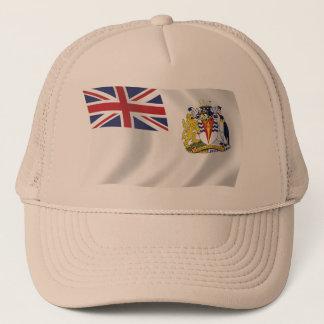 Britischer antarktischer Flaggen-Hut Truckerkappe
