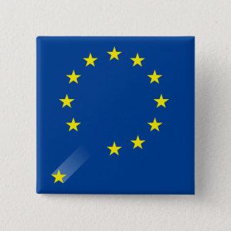 BRITISCHER Brexit Knopf Quadratischer Button 5,1 Cm
