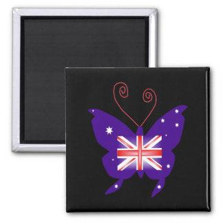 Britischer Diva-Schmetterling Magnete