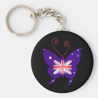 Britischer Diva-Schmetterling Schlüsselbänder
