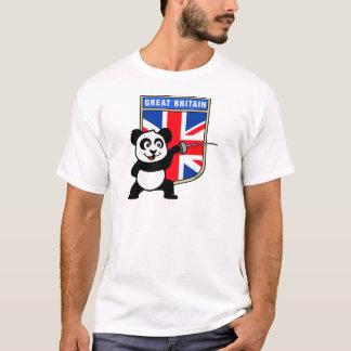 BRITISCHER fechtender Panda T-Shirt
