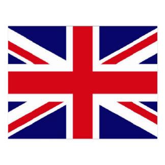 BRITISCHER Flagge Gewerkschafts-Jack Postkarte
