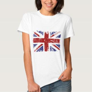 Britischer Flaggen-Gewerkschafts-Jack-PunkGrunge T Shirts