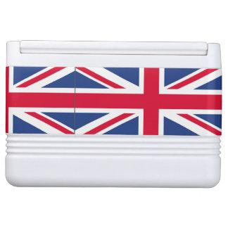 Britischer Flaggeniglu kann cooler Igloo Kühlbox