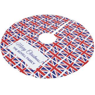 Britischer Gewerkschafts-Jackflagge Polyester Weihnachtsbaumdecke