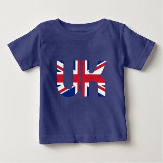 BRITISCHER Initialen-Gewerkschafts-Jack Baby T-shirt