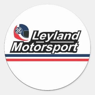 Britischer Leyland Motorsport-Aufkleber Runder Aufkleber