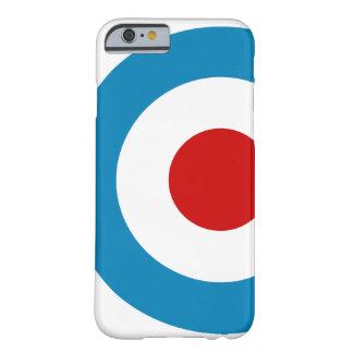 Britischer Mod-Ziel-Entwurf Barely There iPhone 6 Hülle