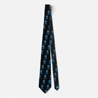 Britischer Polizei-Anruf-Kasten personalisiert Krawatte