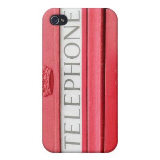 Britischer roter Telekasten iPhone 4/4S Cover