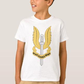 Britischer spezieller Fluglinienverkehr T-Shirt
