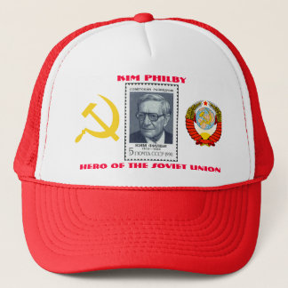 Britischer Spion Kim Philby, Held der Sowjetunions Truckerkappe