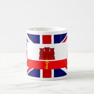 Britischer Tassen-Entwurf Gibraltars Kaffeetasse