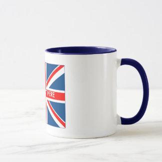 Britischer Unio-Jack Tasse