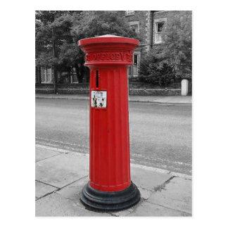 Britischer viktorianischer Säulen-Kasten Postkarte