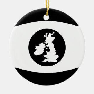 Britisches Auge Keramik Ornament