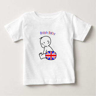 Britisches Baby Baby T-shirt