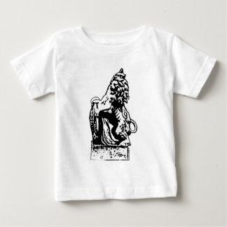 Britisches Emblem-Löwe rv-Weiß das MUSEUM Zazzle Baby T-shirt