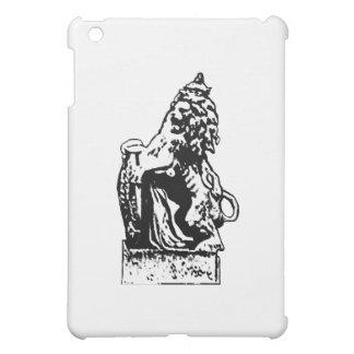 Britisches Emblem-Löwe rv-Weiß das MUSEUM Zazzle Hüllen Für iPad Mini