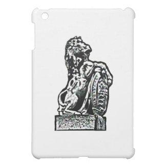 Britisches Emblem-Pferd lv die MUSEUM Zazzle Gesch iPad Mini Cover