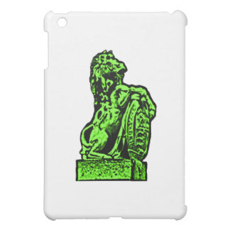 Britisches Emblem-Pferdelv-Grün der MUSEUM Zazzle Hülle Für iPad Mini