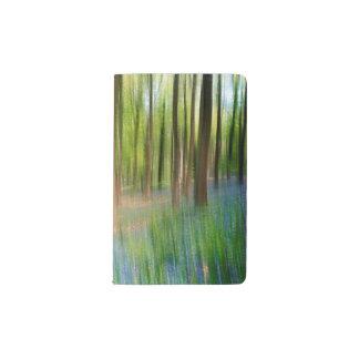 BRITISCHES England | Bluebell-Eichen-Waldland im Moleskine Taschennotizbuch