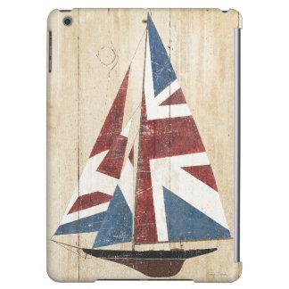 Britisches Flaggen-Segelboot