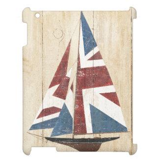 Britisches Flaggen-Segelboot iPad Hülle