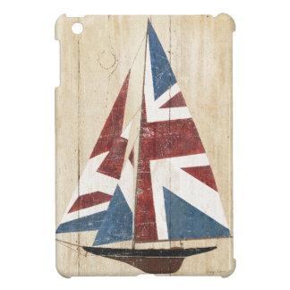 Britisches Flaggen-Segelboot iPad Mini Hülle