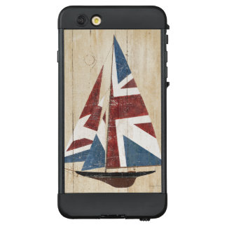 Britisches Flaggen-Segelboot LifeProof NÜÜD iPhone 6 Plus Hülle