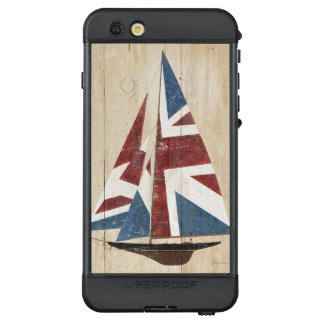 Britisches Flaggen-Segelboot LifeProof NÜÜD iPhone 6s Plus Hülle