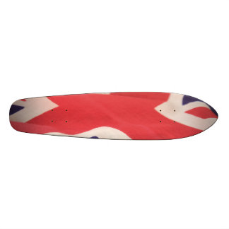 britisches Flaggen-Skateboard 7-1/8 19,1 Cm Old School Skateboard Deck