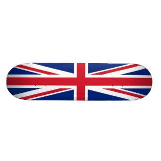Britisches Flaggen-Skateboard Skateboardbrett