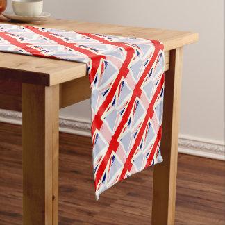 BRITISCHES Flaggen-Spritzen Kurzer Tischläufer