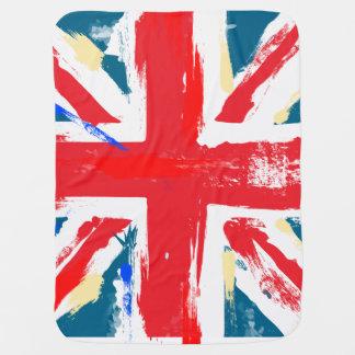 Britisches Gewerkschafts-Jack-Flaggen-Vintages Puckdecke