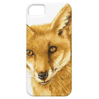 Britisches rotes wildes Leben Fox iPhone 5 Schutzhülle