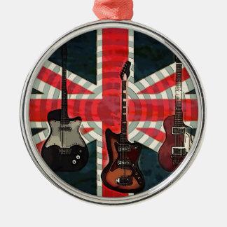Britisches Silbernes Ornament