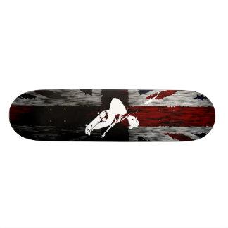 BRITISCHES Skateboard Personalisiertes Skateboard