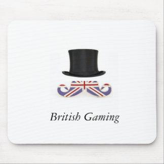 Britisches Spiel MouseMat Mauspad