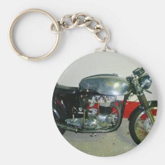 Britisches Triton-Motorrad Schlüsselanhänger